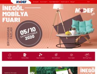 modef.com.tr screenshot