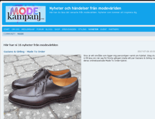 modekampanj.info screenshot