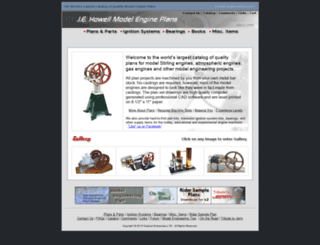 model-engine-plans.com screenshot