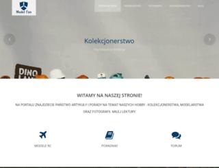 model-fan.com.pl screenshot