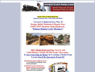 model-train-help.com screenshot