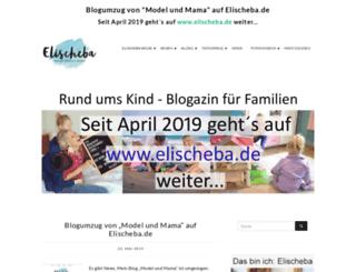 model-und-mama.de screenshot