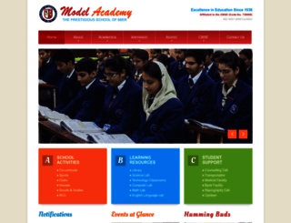 modelacademy.in screenshot