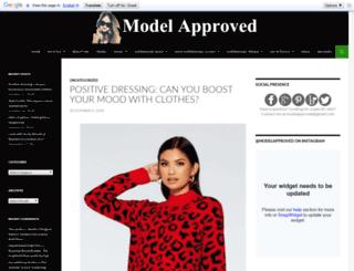 modelapprovedblog.com screenshot