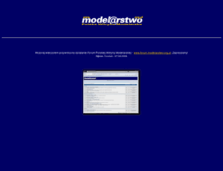 modelarstwo.org.pl screenshot