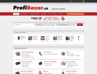 modelbazar.profi-bazar.cz screenshot