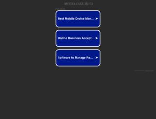modelcase.info screenshot