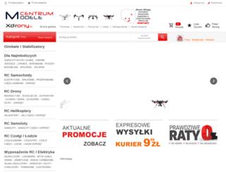 modele-centrum.pl screenshot