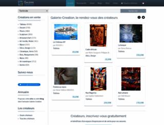 modeles.galerie-creation.com screenshot