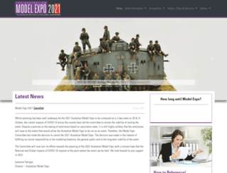 modelexpo.com.au screenshot