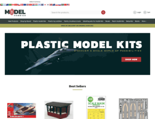 modelhobbies.co.uk screenshot