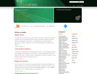 modelines.com screenshot