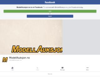 modellauksjon.no screenshot