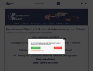 modellbahnen-licht.de screenshot