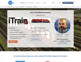 modellbahnservice.de screenshot