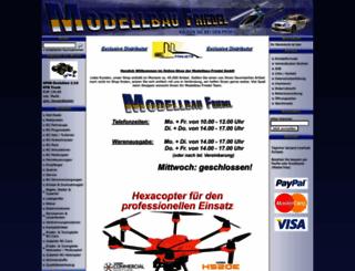 modellbau-friedel.com screenshot