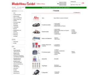 modellbau-seidel.de screenshot