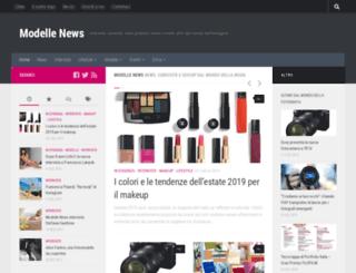 modellenews.com screenshot