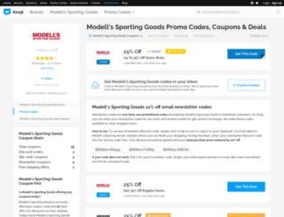 modellssportinggoods.bluepromocode.com screenshot