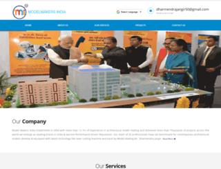 modelmakersarchindia.com screenshot
