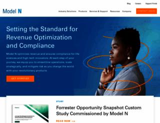 modeln.com screenshot