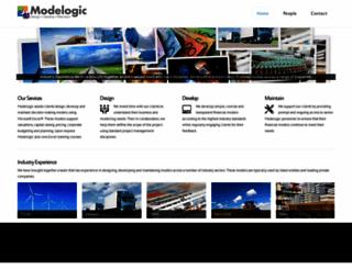 modelogic.com.au screenshot