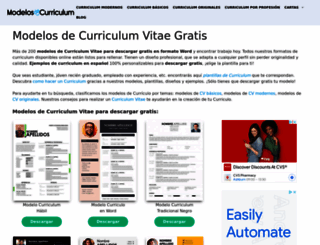 modelos-de-curriculum.com screenshot