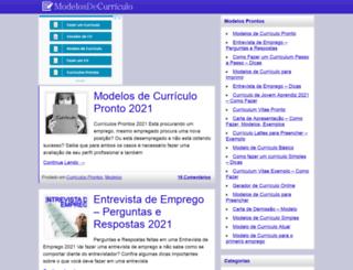 modelosdecurriculo.org screenshot