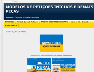modelosdeiniciais.blogspot.com.br screenshot