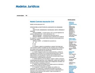 modelosjuridicosvenezuela.blogspot.com screenshot