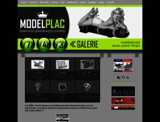 modelplac.cz screenshot