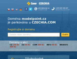 modelpoint.cz screenshot