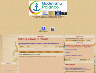 modelpolanco.creatuforo.com screenshot