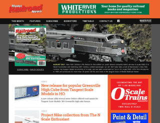modelrailroadnews.com screenshot