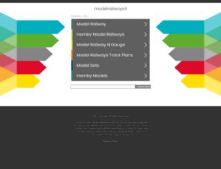 modelrailways.it screenshot