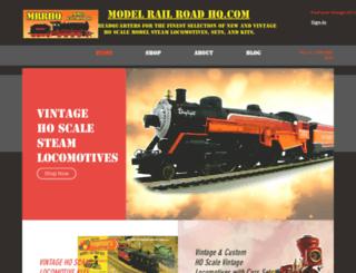 modelrollercoasterhq.com screenshot
