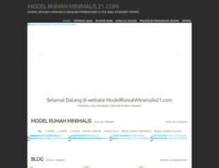 modelrumahminimalis21.com screenshot