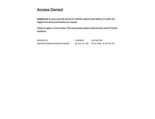 models.com screenshot
