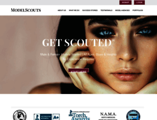 modelscouts.com screenshot
