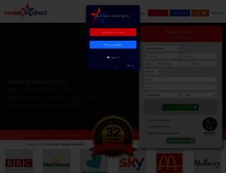 modelsdirect.com screenshot