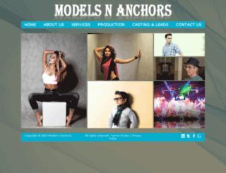 modelsnanchors.co.in screenshot