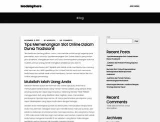 modelsphere.org screenshot