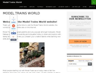 modeltrainsworld.com screenshot