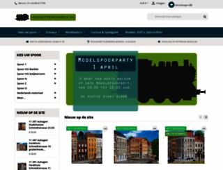 modeltreinmarkt.nl screenshot