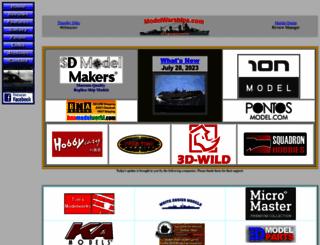 modelwarships.com screenshot