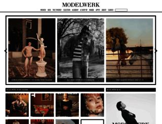 modelwerk.de screenshot