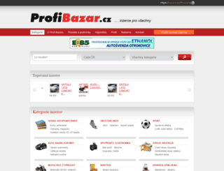 modely.profi-bazar.cz screenshot