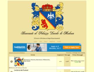 modena.forumsfree.org screenshot