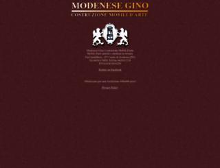 modenese.it screenshot