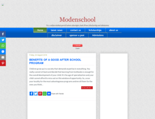 modenschool.blogspot.com.ng screenshot